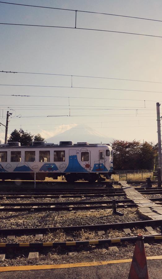 Mt. Fuji train